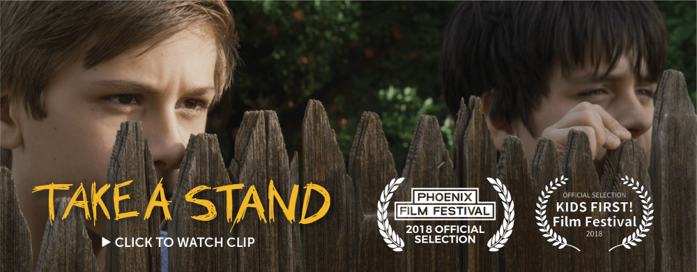 "Phoenix Film Festival and KIDS FIRST! Film Festival have officially selected Dixiletta Moving Pictures short film ""Take a Stand"" for entry."