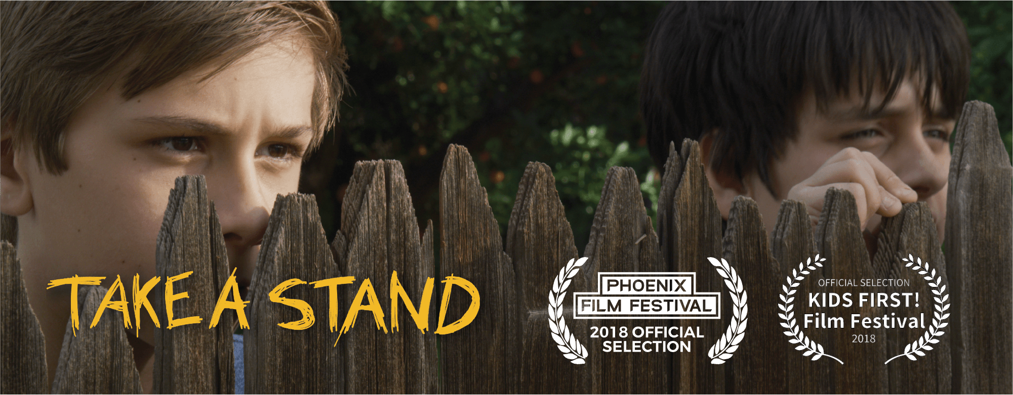 """Phoenix Film Festival and KIDS FIRST! Film Festival have officially selected Dixiletta Moving Pictures short film """"Take a Stand"""" for entry."""
